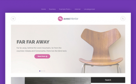 AveoInteior Free WordPress Theme