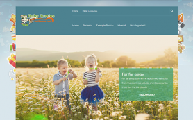 BabyTurtles Free WordPress Theme