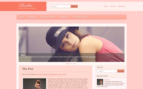 Barbie Free WordPress Theme