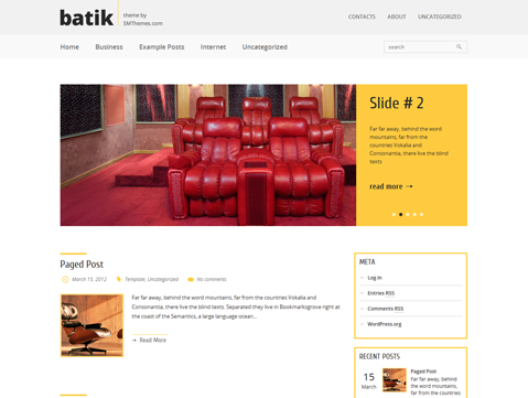 Batik Free WordPress Theme