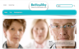BeHealthy Free WordPress Theme