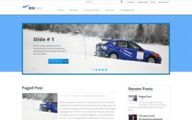 BigStart Free WordPress Theme