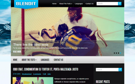 BlendIt Free WordPress Theme
