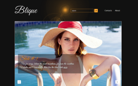 Blique Free WordPress Theme
