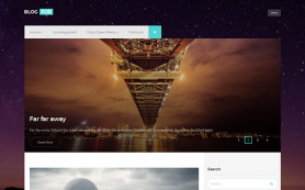 BlogFor Free WordPress Theme