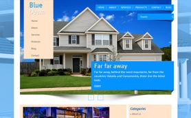 BlueDream Free WordPress Theme
