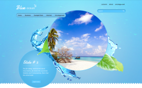 BlueOcean Free WordPress Theme