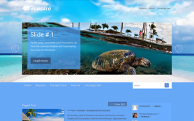 Bungalo Free WordPress Theme