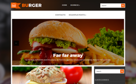 Burger Free WordPress Theme