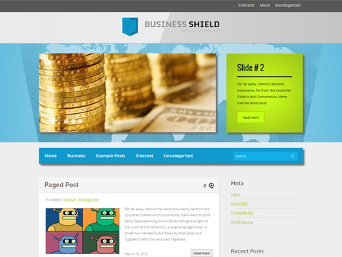 BusinessShield Free WordPress Theme