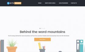 ByteCount Free WordPress Theme