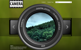 Camera Free WordPress Theme