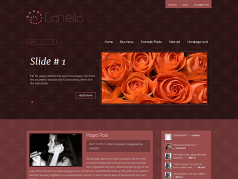 Canella Free WordPress Theme