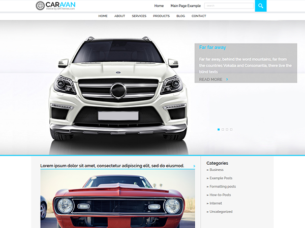 Caravan WordPress Theme
