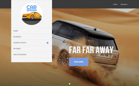 CarSpawn Free WordPress Theme