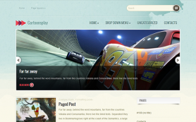 CartoonsPlay Free WordPress Theme