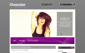 Chemodan Free WordPress Theme
