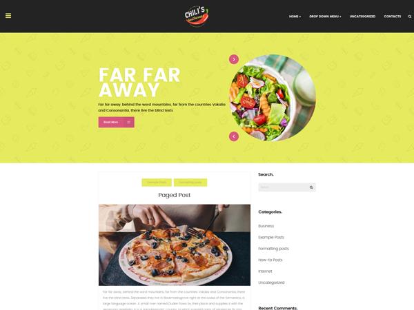 Chilis WordPress Theme
