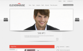 CleverHouse Free WordPress Theme