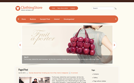 ClothingStore Free WordPress Theme