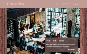 CoffeeBar Free WordPress Theme