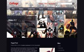 Collage Free WordPress Theme