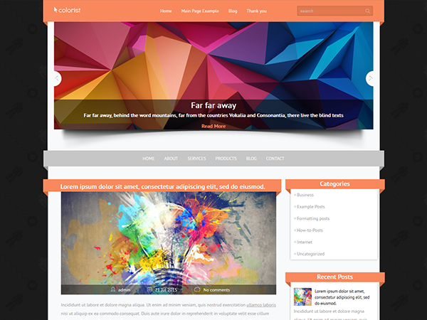 Colorist WordPress Theme