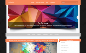 Colorist Free WordPress Theme