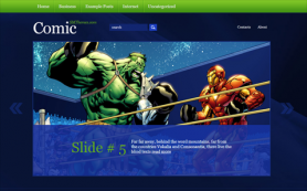 Comic Free WordPress Theme