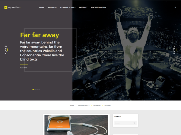 Composition Free WordPress Theme