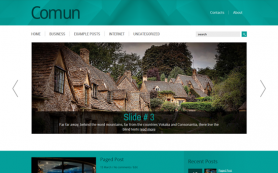 Comun Free WordPress Theme