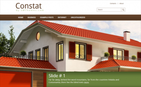 Constat Free WordPress Theme