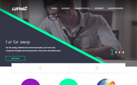 Cornet Free WordPress Theme