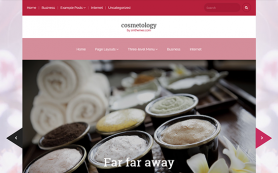 Cosmetology Free WordPress Theme