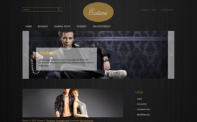 Costume Free WordPress Theme