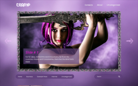 Cramp Free WordPress Theme