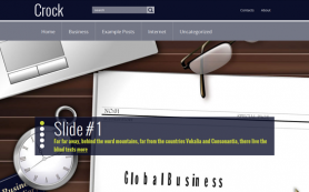 Crock Free WordPress Theme