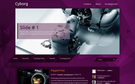 Cyborg Free WordPress Theme