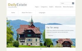 DailyEstate Free WordPress Theme