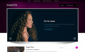 Dakota Free WordPress Theme