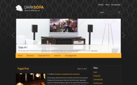 DarkSofa Free WordPress Theme