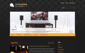 DarkSofa Free WordPress Theme