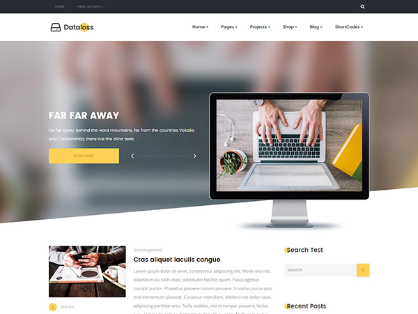 Dataloss WordPress Theme