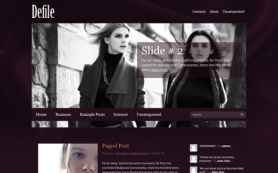 Defile Free WordPress Theme