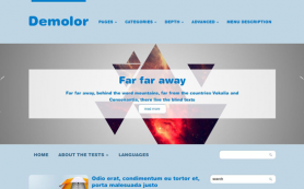 Demolor Free WordPress Theme