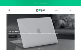 Depos Free WordPress Theme