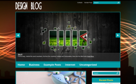 DesignBlog Free WordPress Theme