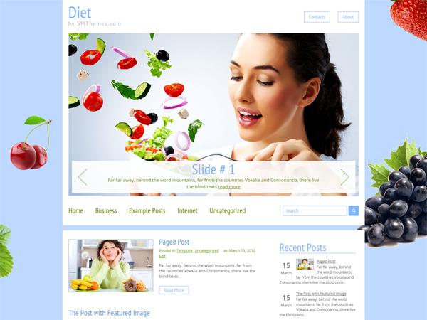 Diet WordPress Theme