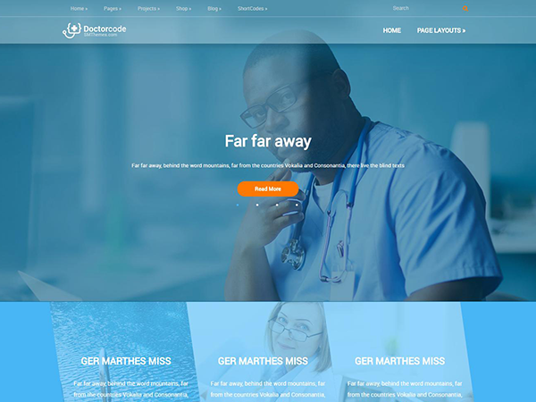 DoctorCode WordPress Theme