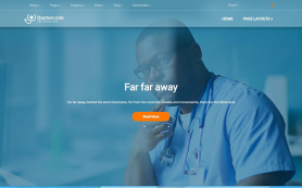 DoctorCode Free WordPress Theme